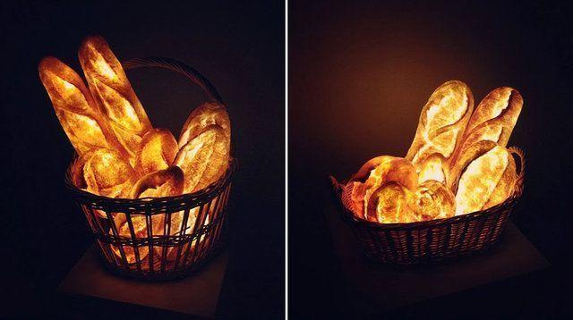 Luminárias com pães: conheça esta novidade criada no Japão