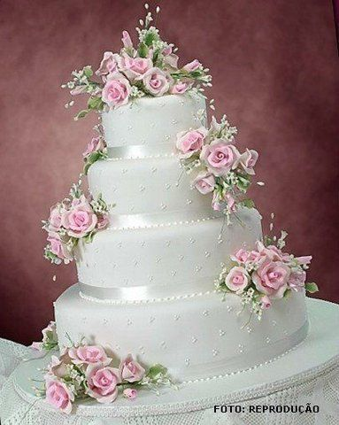 Bolos temáticos para casamentos