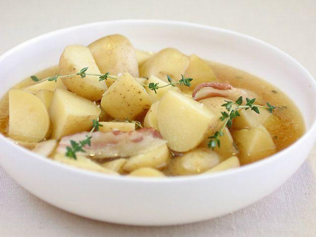 Saiba quando as batatas estão totalmente cozidas
