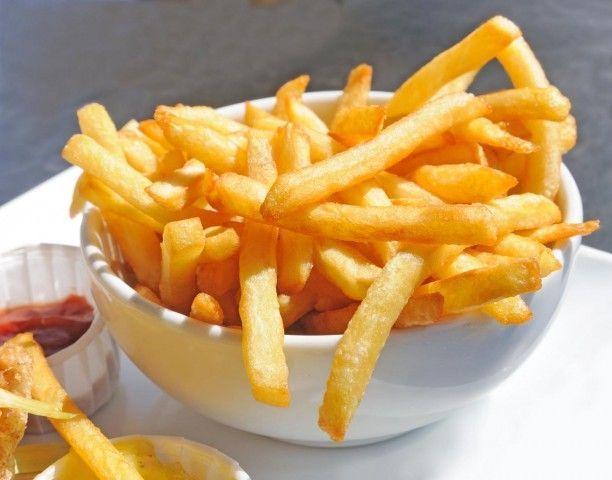 Como fazer batata frita seca