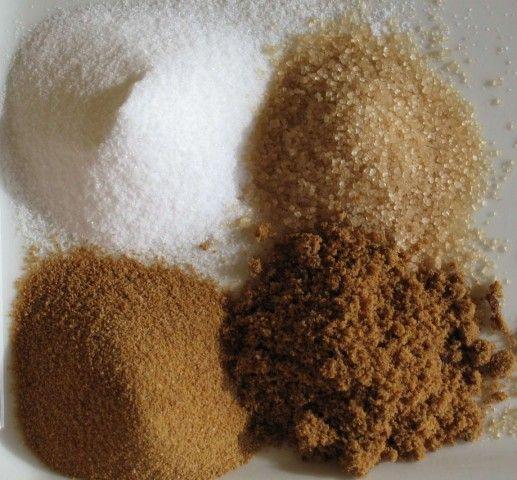 Modalidades de açúcar