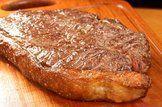 Importância de cozinhar carne com gordura