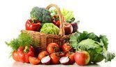 Auxílio de frutas e hortaliças para manter a saúde