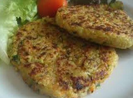 Hambúrguer de quinoa