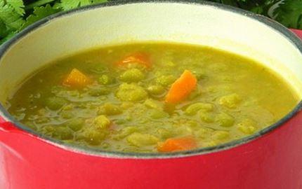 Ervilha Seca com Cenoura
