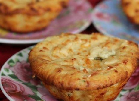 Muffin de Parmesão