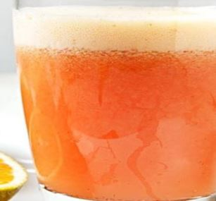 Suco de Morango com Laranja
