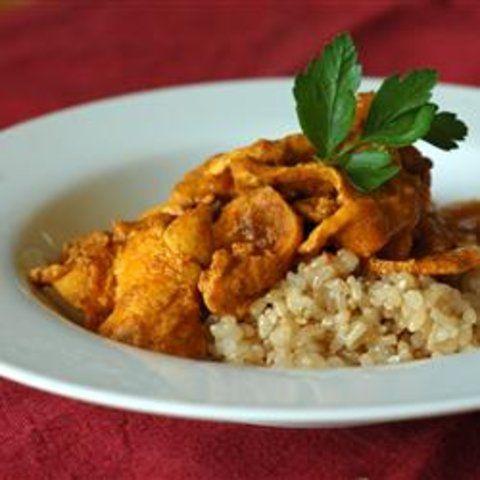 Curry de galinha indiano