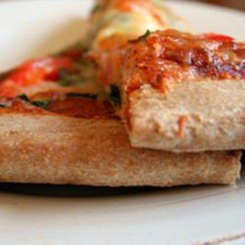 Incrível Casca de Pizza com trigo integral