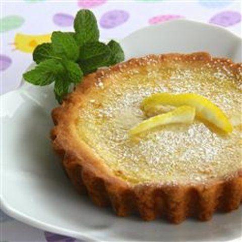 Torta de limão doce e simples