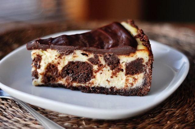 Brownies de creamcheese