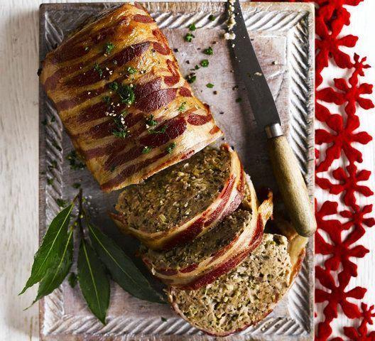 Pão de salsicha com bacon