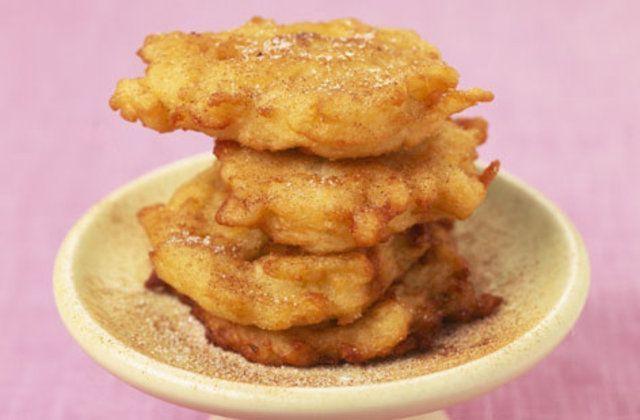 Maçã frita empanada
