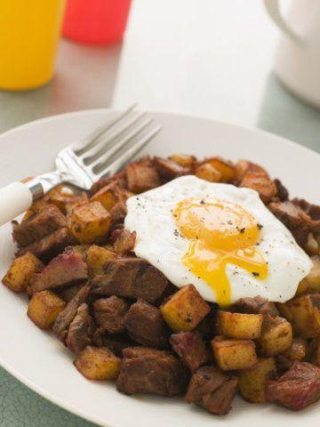 Ovos com batata doce