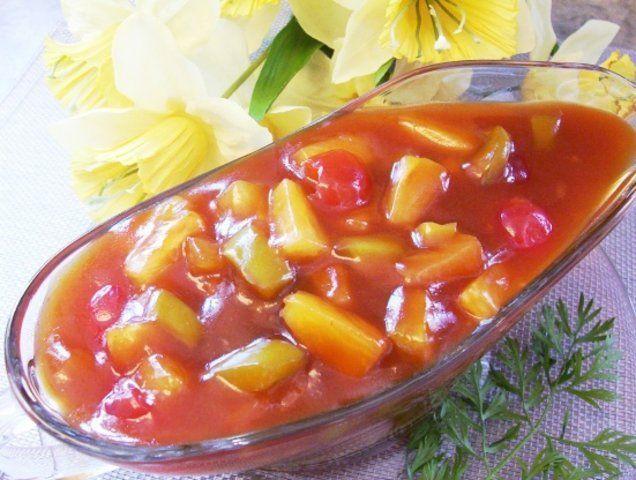 Molho doce para saladas e carnes