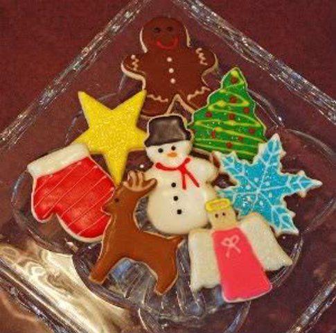 Biscoitos natalinos