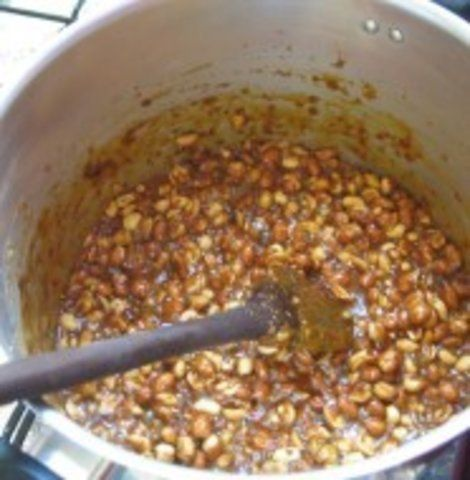 Doce de Amendoim com leite condensado