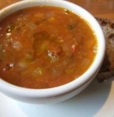 Sopa de Lentilha Caseira