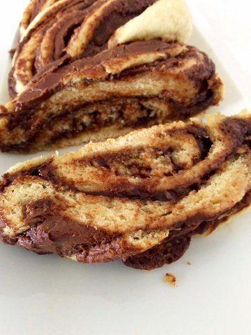 Pão de nutella