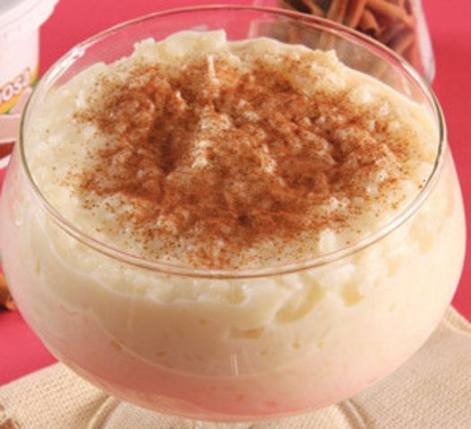 Arroz doce com leite condesado
