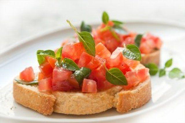 Bruschetta de tomate