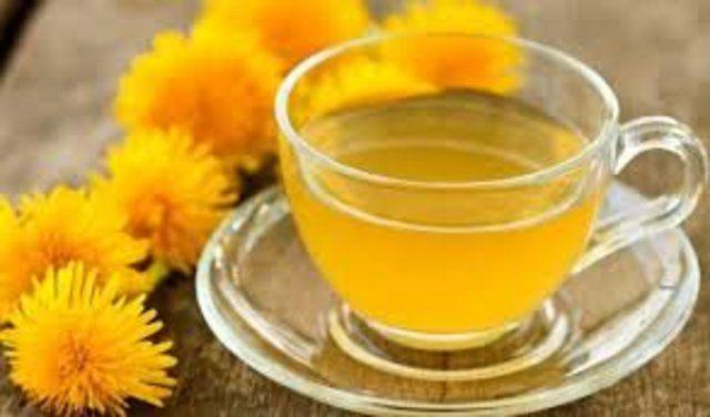 Chá de semente de girassol