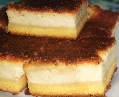 Bolo de Fubá com  Cream Cheese