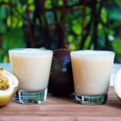 Iogurte de Maracujá