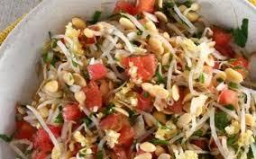 Salada de beterraba, queijo e gengibre