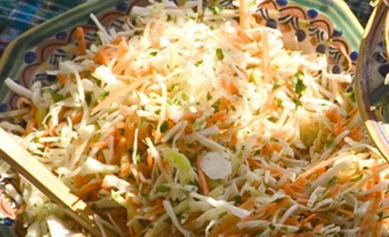 Receita de salada mexicana de repolho