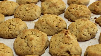 Cookies de Amêndoas e Pimenta Síria