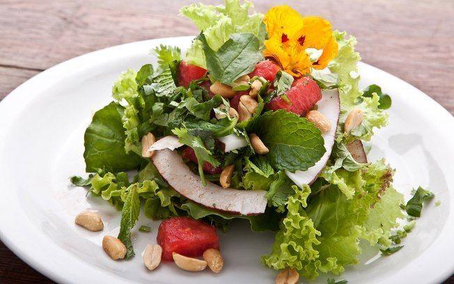 Salada de melancia