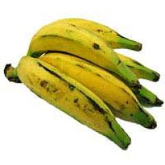 Banana Recheada com Carne Moída