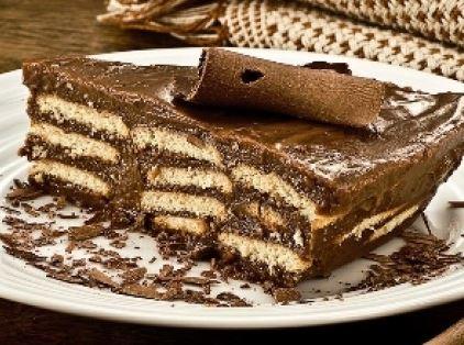 Pavê de Chocolate Simples