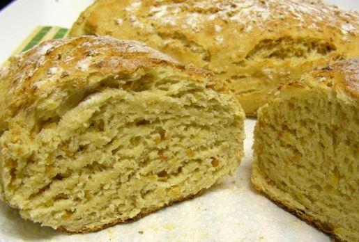 Receita de Pão de Soja