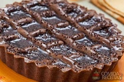 Crostata de chocolate