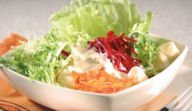 Salada rápida