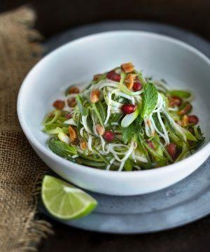 Salada de Papaia