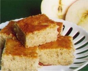 Bolo prático de maçãs