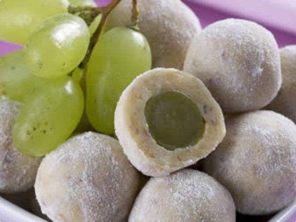 Docinho de uva coberta