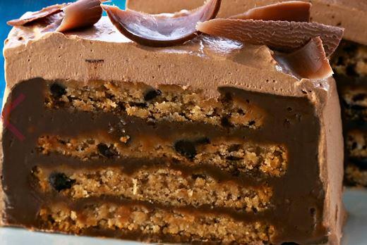 Pavê de Cookie de Chocolate