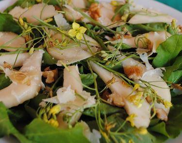 Salada com Pera e  Rúcola