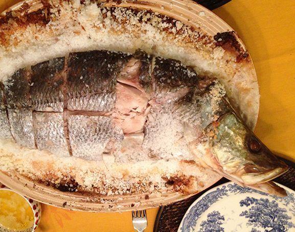Peixe no Sal Grosso