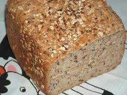Pão integral de linhaça