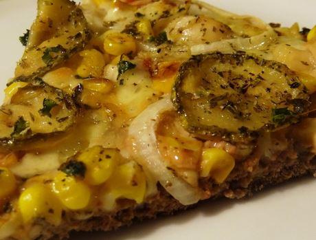 Pizza de Massa de Carne Moída