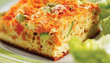 Torta fácil de legumes