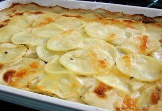 Batatas de Forno ao Creme