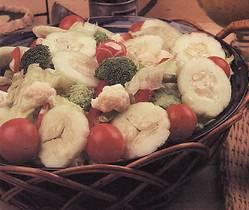 Salada de laranja e espinafre