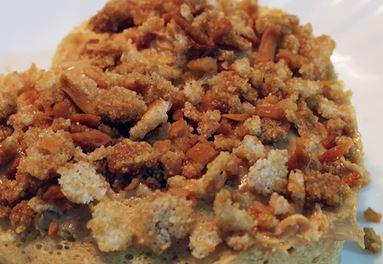 Bolo de Amendoim de Micro-ondas