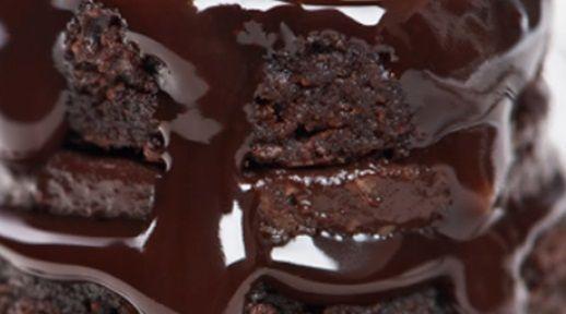 Bolo de chocolate negrinho